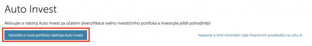 Mintos - auto invest - tvoříme portfolio