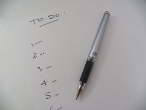 To-do list, seznam úkolů