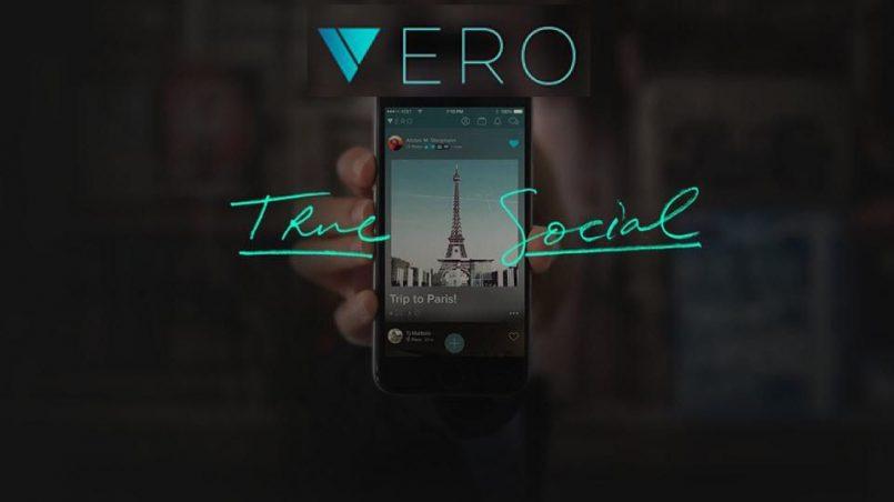 Vero - True Social logo, nová sociální síť
