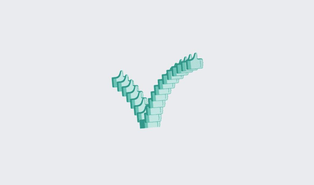 Facebook animace textu - skákající like nebo palec nahoru