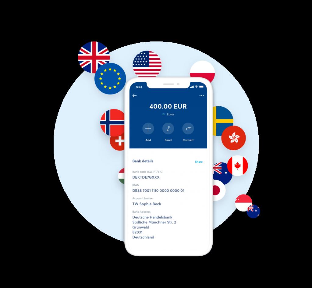 TransferWise - mobilní aplikace