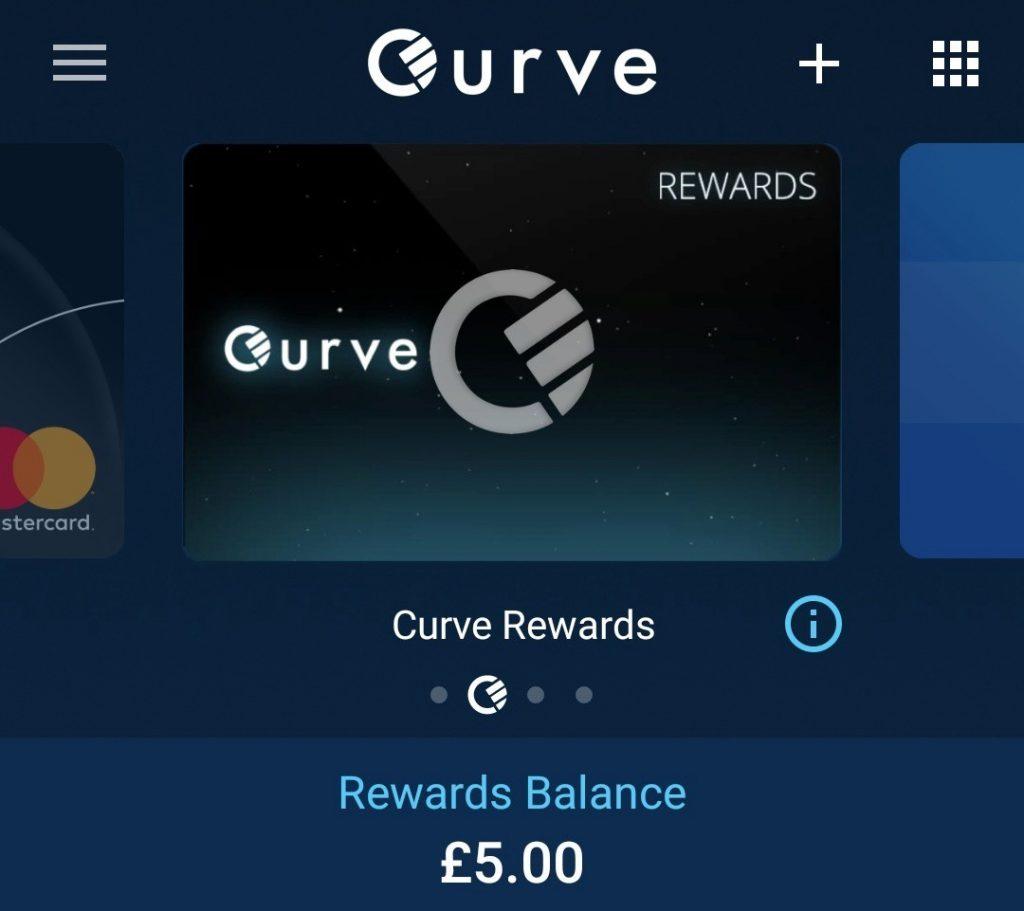 curve karta odměny a bonusy